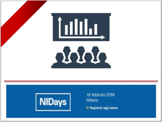 SINT Technology at the National Instrument Days, February 18th 2016, Milan