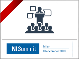 SINT Technology at the NISummit Italy, 8th November 2018