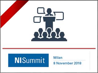 SINT Technology al NISummit Italy, 8 novembre 2018