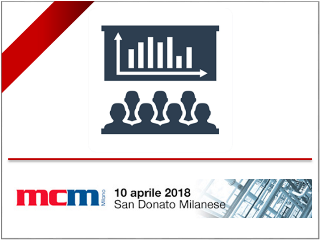 Participation of SINT Technology at the MCM Milano, San Donato Milanese 18th April 2019