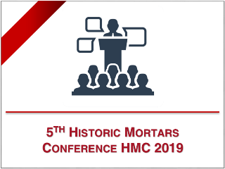 SINT Technology at the 5th Historic Mortars Conference, 19th -21st June, Pamplona