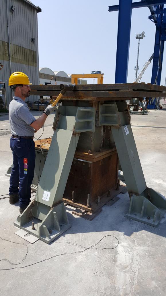 Hammer test plant industrial