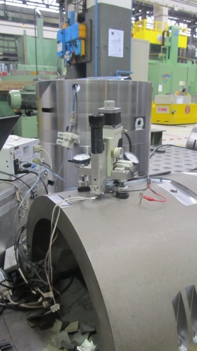 Residual stress measurement automatic