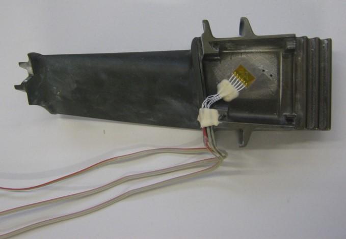 Residual stresss measurement oil&gas turbine compressor blade