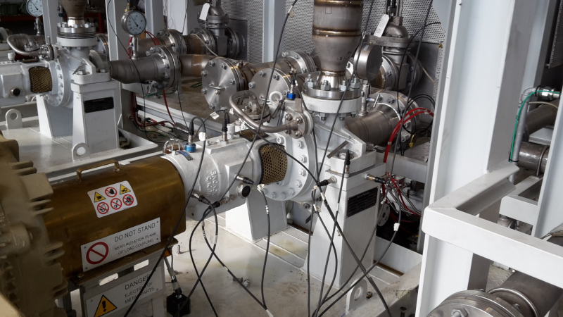 Industrial accelerometer measurement