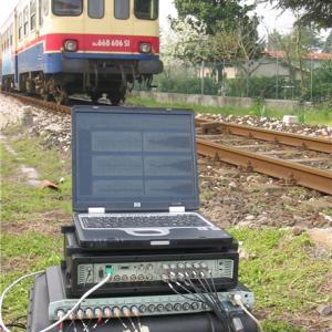 Railway vibration test