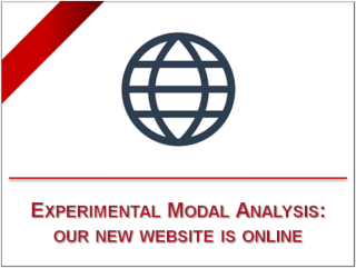 Experimental Modal Analysis: our new website is online
