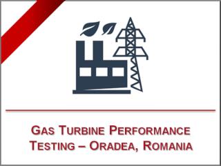Prova di prestazione di un turbogeneratore – Centrale di teleriscaldamento di Oradea, Romania