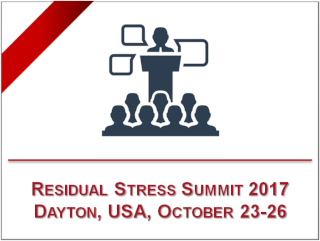 SINT Technology at the Residual Stress Summit 2017 - October 23rd- 26th, Dayton