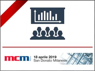 Partecipazione di SINT Technology alla Mostra Convegno Manutenzione Industriale, San Donato Milanese 18 aprile 2019